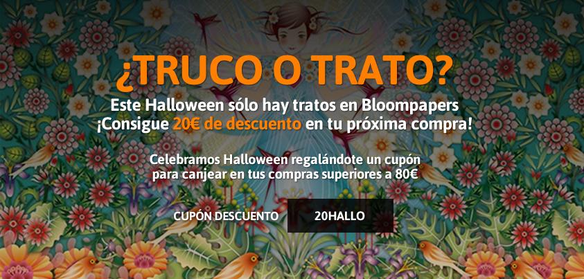 ¿Truco o trato? En Halloween sólo hay tratos en Bloompapers sólo hay tratos.