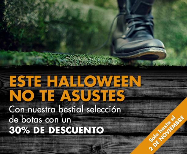 Botas Online prepara para este Halloween un 30% de descuento