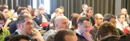 Onestic-en-la-Wordcamp-Spain-2010-junto-con-Blogestudio-y-el-Señor-Muñoz